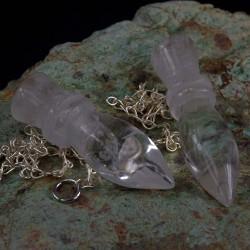 Bergkristal pendel egyptisch