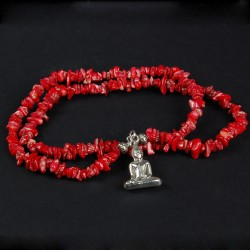 Rood Koraal met Boeddha