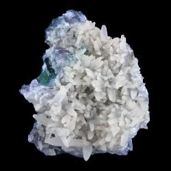 Calciet Celadoniet Amethist