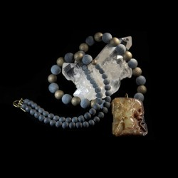 Chögyal amulet halsketting