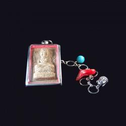 Boeddha meditatie amulet.