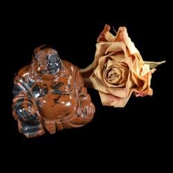 Boeddha Mahonie Obsidiaan