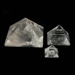 Bergkristal pyramide