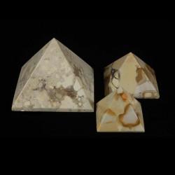Jaspis conglomeraat pyramide