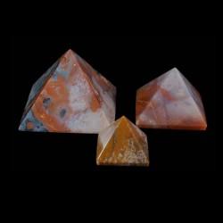 Jaspis fancy pyramide