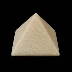 Maansteen beige pyramide