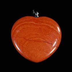 Jaspis rood harthanger